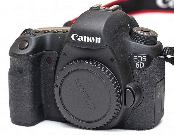 Тушка Canon 6d WG wi-fi, GPS мінімальний пробіг