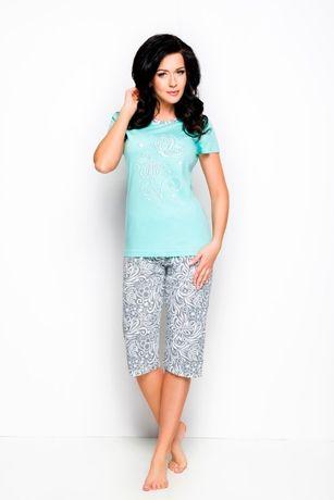 Piżama bawełna damska długość 3/4 roz. M, L, XL