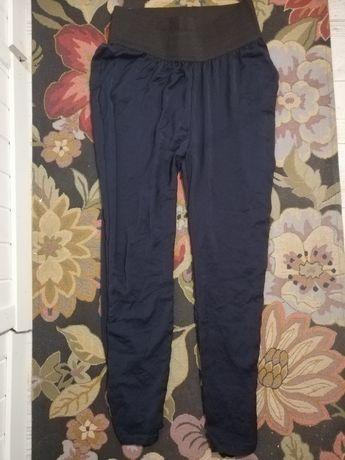 Granatowe spodnie Vila L