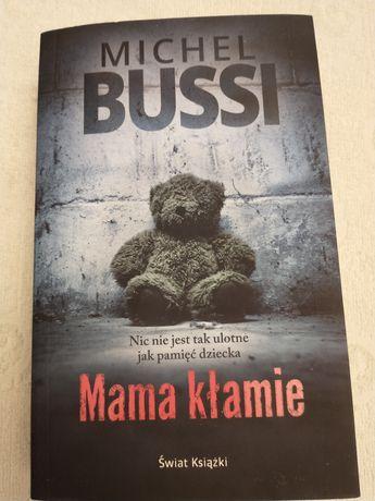Książka Mama klamie Michel Bussi