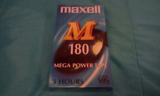 Magnífica Cassete Video Maxell E180M Nova e Selada