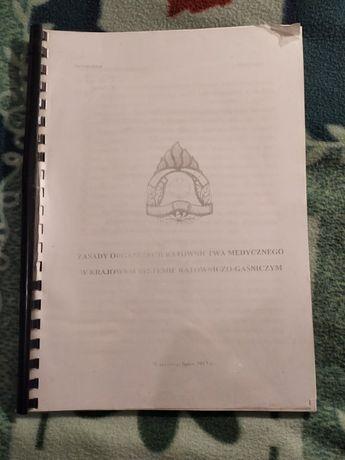 Zasady działania Ratownictwa Med, w systemie Gaśniczym