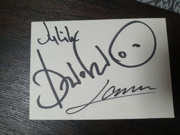 Продам автограф  Dzidzio