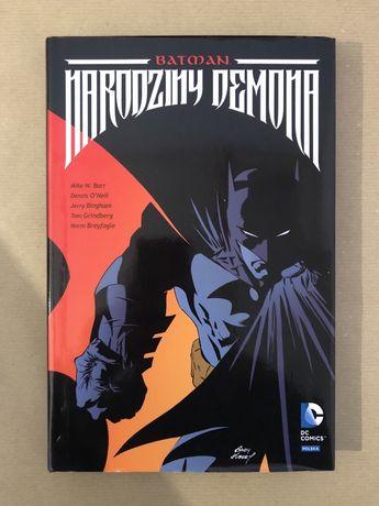 "komiks Batman ""Narodziny Demona"" DC Comics"