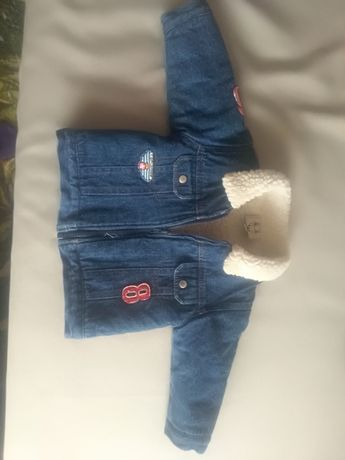 Зимова курточка джинсова