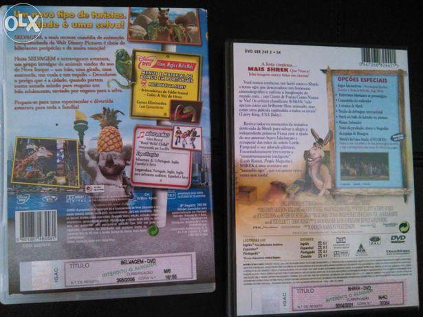 2 DVD Shrek e Selvagem