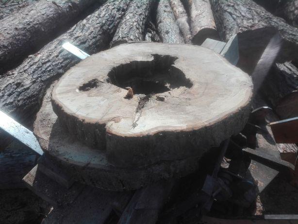 Plaster drewna lipowego