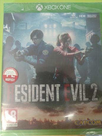 Resident Evil 2 xboxONE PL Nowa