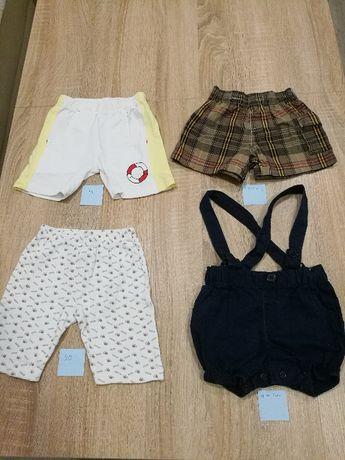 Ubranka dla chłopca, rozmiary różne, 5 szt. spodnie, spodenki