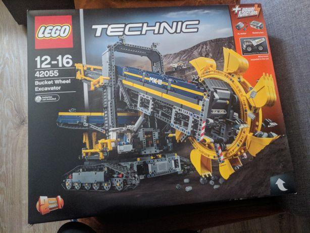 LEGO Technic Górnicza koparka kołowa 42055 NOWE Nieotwierane