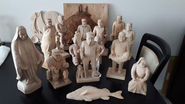 Rzeźba tematyka rybacka i nie tylko