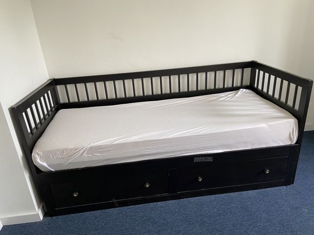 łóżko rozkładane leżanka Ikea