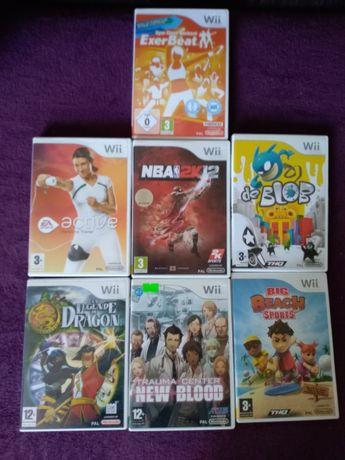 Sprzedam gry na Nintendo Wii