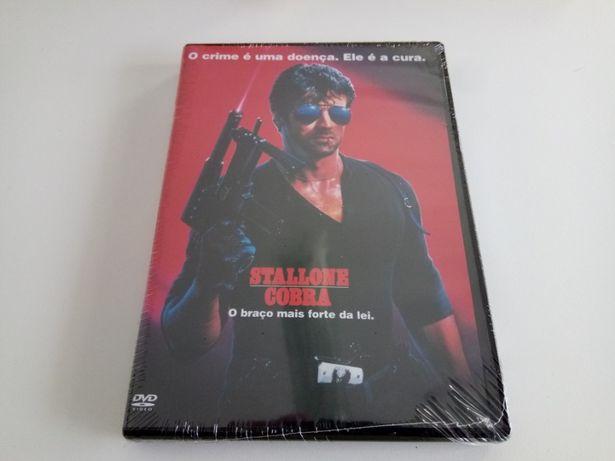 DVD Filme Original Stallone Cobra Novo Selado