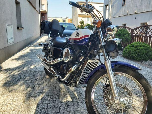 Honda Shadow VT750S 2012r, 12 tys km, Sakwy, IDEALNY stan, FILM 4k