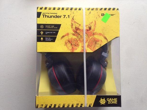 Nowe słuchawki Tracer GameZone Thunder 7.1 do gier. Dla gracza! NOWE!