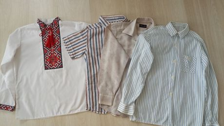 Вышиванка,  рубашка, тенниска на 6-7-8лет  выпускной