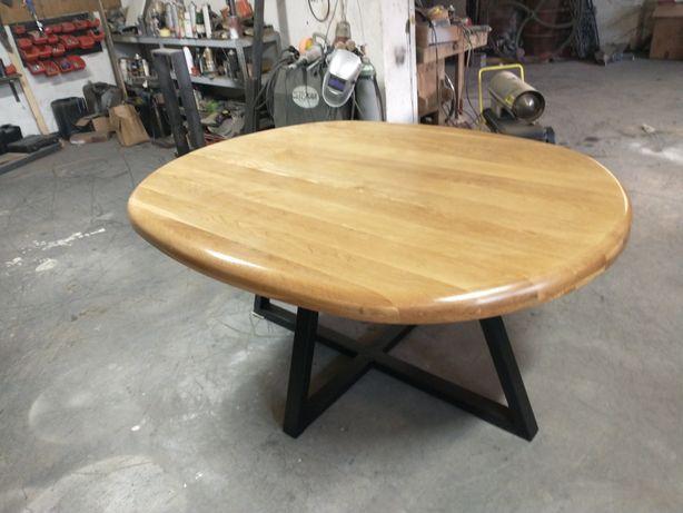 Stół dębowy na 6 osób,loft