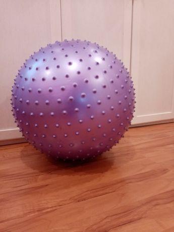 Мяч для фитнеса с массажными шипами. Гимнастический мяч