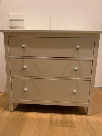 Cómoda IKEA c/3 gavetas, velatura branca 108x96 cm
