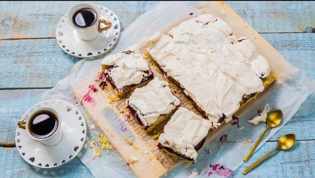Ciasta domowe ze swojskich produktów.