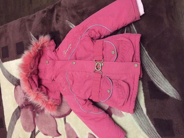 Продам зимнюю детскую куртку