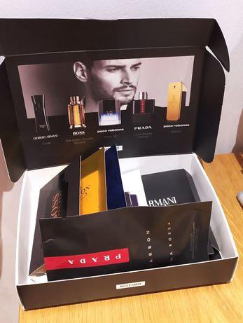 Próbki męskie NOTINO Discovery Box Bold Fragrances Armani Boss Prada