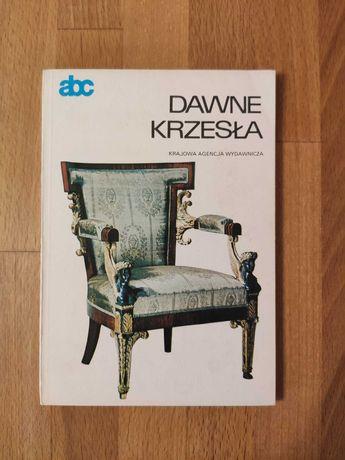 abc Dawne krzesła- Krajowa Agencja Wydawnicza rok 1986