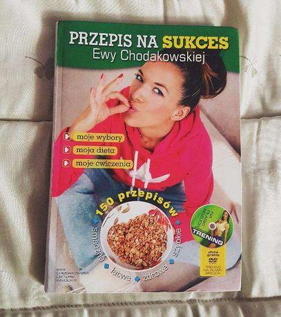 Przepis na sukces Ewy Chodakowskiej książka przepisy, porady HIT!!!