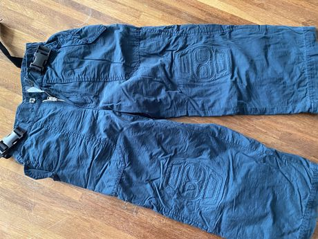 Mexx spodnie na podszewce na zime 122 cm