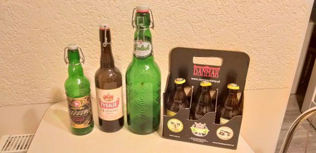 Kolekcja zestaw butelek od piwa dla birofila