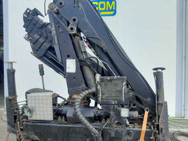 Grua para camião Hiab 166 -5 HI Pro