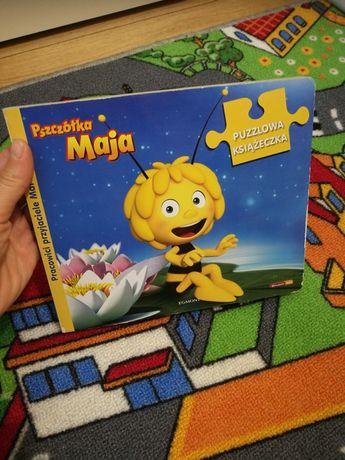 Książeczka pszczółka Maja puzzle