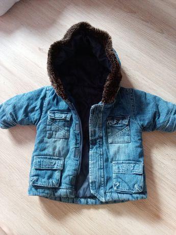 Теплая курточка 0-6 куртка
