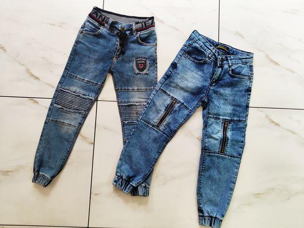 Стильные джинсы на стройного мальчика на 5-6 лет 110-116см