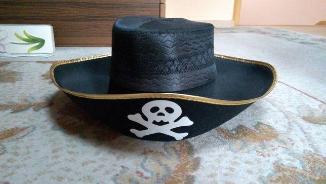 Kapelusz piracki czapka piracka pirat nowy