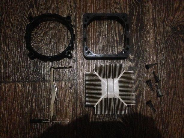 Продам радиатор для охлаждения процессора ПК с креплениями / 150 руб