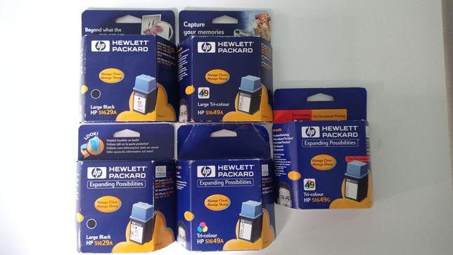 Tinteiros HP  51629A 51649A e 51649G