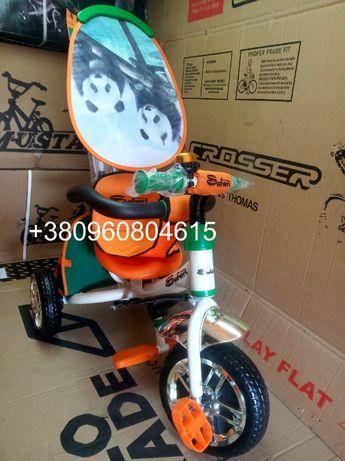 Детский велосипед с Родительской ручкой ПОЧТИ ДАРОМ ! Safari Lexus
