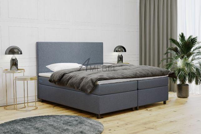 Łóżko KONTYNENTALNE FIONA Łoże tapicerowane