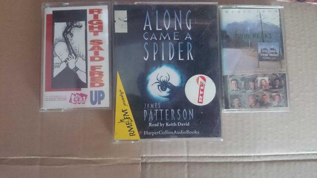 Sprzedam kasety spider man podwójne wydanie,twin peaks brawo itp