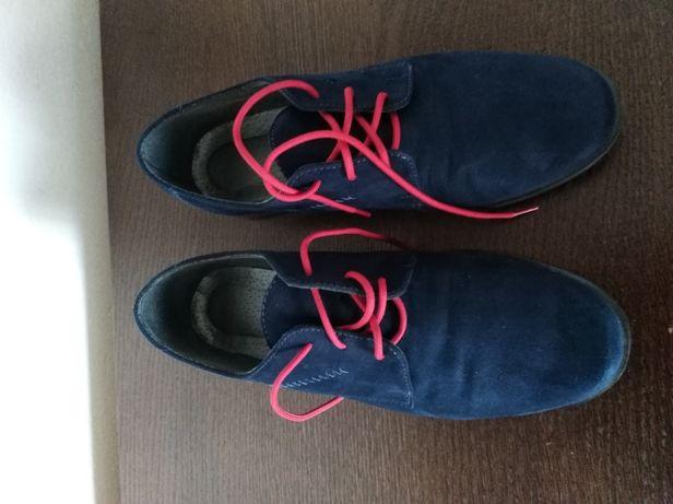 Eleganckie buty chłopięce 33 do garnituru, komunijne