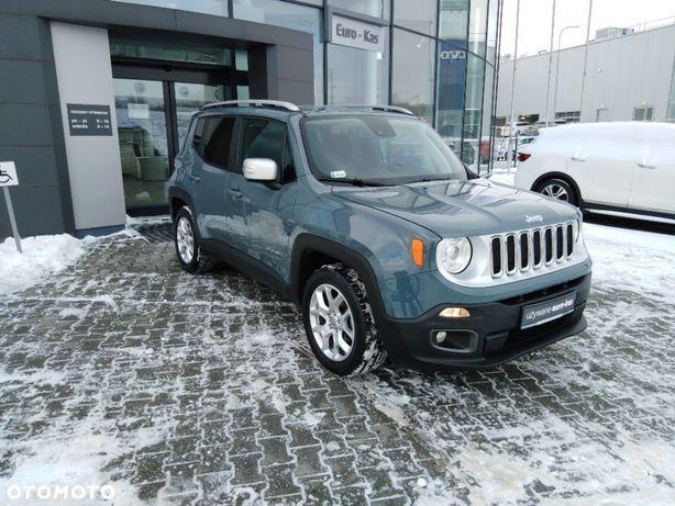 Jeep Renegade Wersja Limited / I właściciel / Salon PL / Serwis ASO / Bezwypadkowy