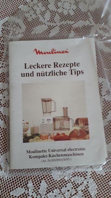 Przepisy kuchenne Moulinex, j.niem.