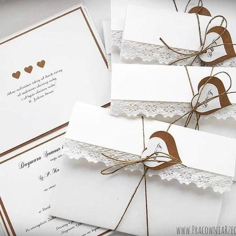 Zaproszenia ślubne, na chrzest , okolicznościowe
