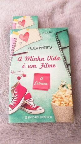 Livro A Minha Vida é um Filme