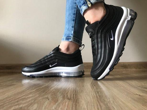 Nike Air Max 97. Rozmiar 38. Kolor czarno- biały. Zachęcam