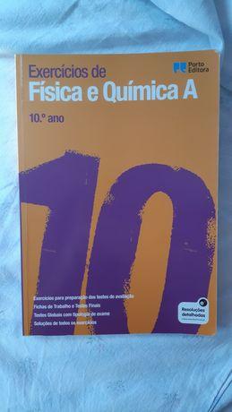Livro de exercicios de Física e Química A 10°ano