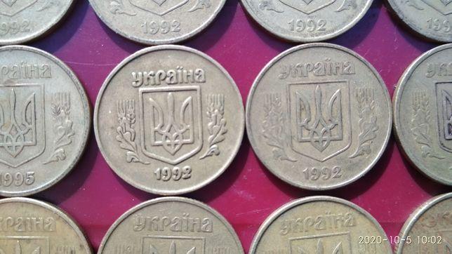 Монеты 25 и 50 копеек Украина