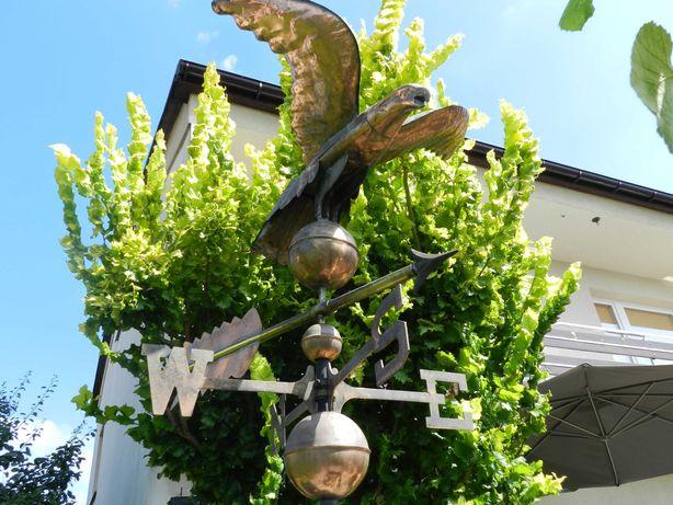 wiatrowskaz ogrodowy orzeł miedziany
